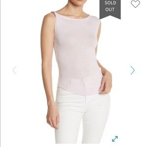 NWT Free People That Girl Twist Knit Top